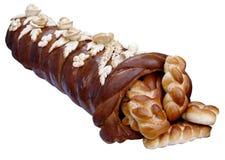 Handmade festive Bread Horn of Plenty Stock Photos