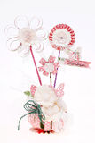 Handmade flowers made from paper Royalty Free Stock Photos