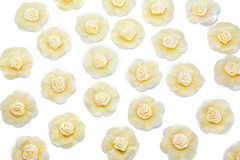 Handmade flowers patterns Royalty Free Stock Photos