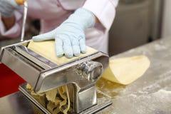 Handmade fresh pasta Stock Photography