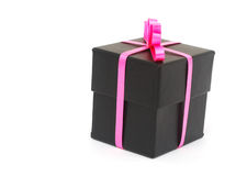 A handmade gift. A gift box in valentine day Stock Image