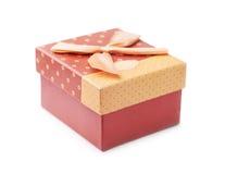 Handmade gift box Royalty Free Stock Photography