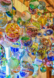 Handmade glass balls Royalty Free Stock Photography