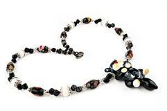 Handmade glass beads Stock Photos