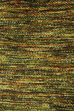 Handmade green knitting wool texture. Background Stock Images