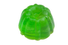 Handmade green Soap Stock Photo