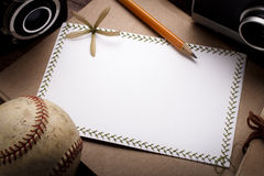 Handmade greeting cards. Blank handmade greeting cards with elements of photography Stock Images