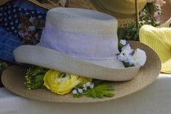 Handmade hat Royalty Free Stock Photography