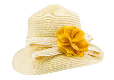 Handmade Hat form Straw and bamboo Stock Image