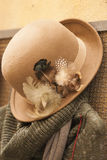 Handmade hat Royalty Free Stock Images