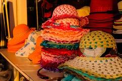 Handmade Hats Royalty Free Stock Photography
