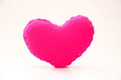Handmade Heart figure Stock Image