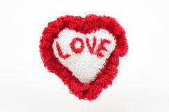 Handmade heart Royalty Free Stock Photography
