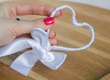 Handmade heart. Royalty Free Stock Image