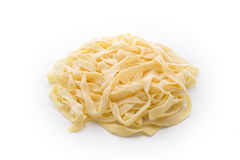 Handmade home tagliatelle Stock Images