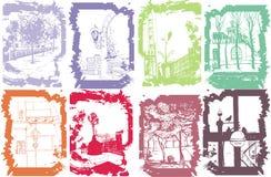 Free Handmade Illustration Of A Sity Stock Photos - 8234483