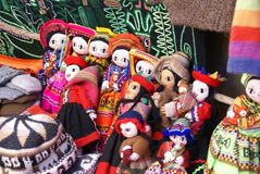 Handmade Indian doll Stock Photo