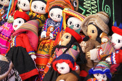 Handmade Indian doll Stock Photo