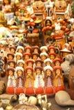 Handmade Indian dolls, Pisac market Royalty Free Stock Images