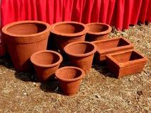 Handmade Indian pottery Stock Photos