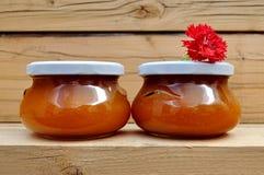 Handmade jam pots Royalty Free Stock Photography