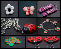 Handmade Jeweleries Stock Photo