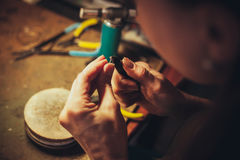 The handmade jewellery Stock Photos