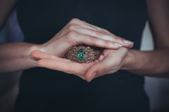The handmade jewellery Stock Images