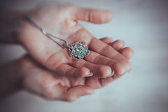The handmade jewellery Royalty Free Stock Images