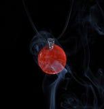 Handmade jewellery and smoke Stock Photos