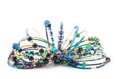 Handmade jewelry royalty free stock photo