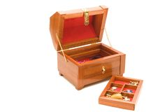 Handmade Jewelry Box Stock Photos