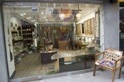 Handmade jewelry store Royalty Free Stock Photo
