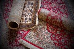 Handmade Kashmir carpets Stock Images