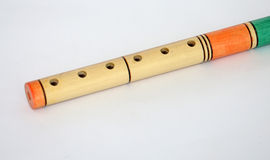 Handmade Kaval, Turkish  flute Stock Photography