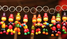 Handmade key chains Stock Image