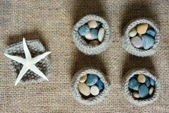 Handmade, knit, knitting, art hobby, lovely creatve Royalty Free Stock Images