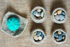 Handmade, knit, knitting, art hobby, lovely creatve Stock Image