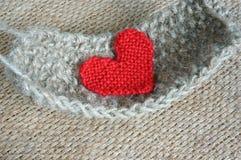 Handmade, knit, knitting, art hobby, lovely creatve Royalty Free Stock Photo