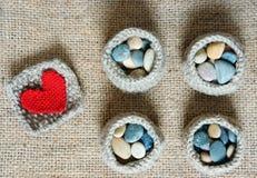 Handmade, knit, knitting, art hobby, lovely creatve Stock Photo