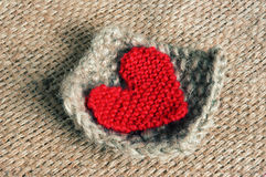 Handmade, knit, knitting, art hobby, lovely creatve Stock Images