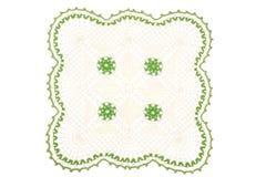 Handmade knitted napkin. Studio Photon Stock Photo
