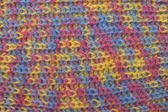 Handmade knitted wool background Royalty Free Stock Photography