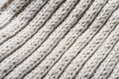 Handmade knitted wool texture Royalty Free Stock Images