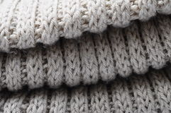 Handmade knitted wool texture Stock Photo