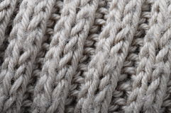 Handmade knitted wool texture Stock Image