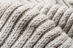 Handmade knitted wool texture Royalty Free Stock Photo