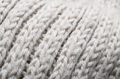 Handmade knitted wool texture Royalty Free Stock Image