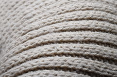 Handmade knitted wool texture Stock Photography
