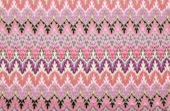 Handmade  knitting wool texture. Stock Photography